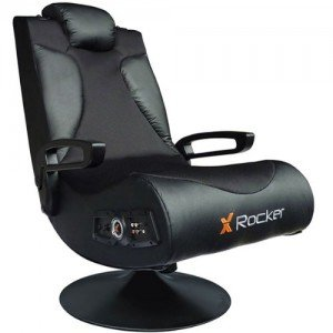 x rocker vision 2.1 gaming chair side view