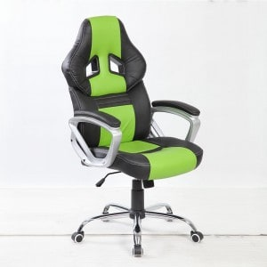 btm green gaming chair