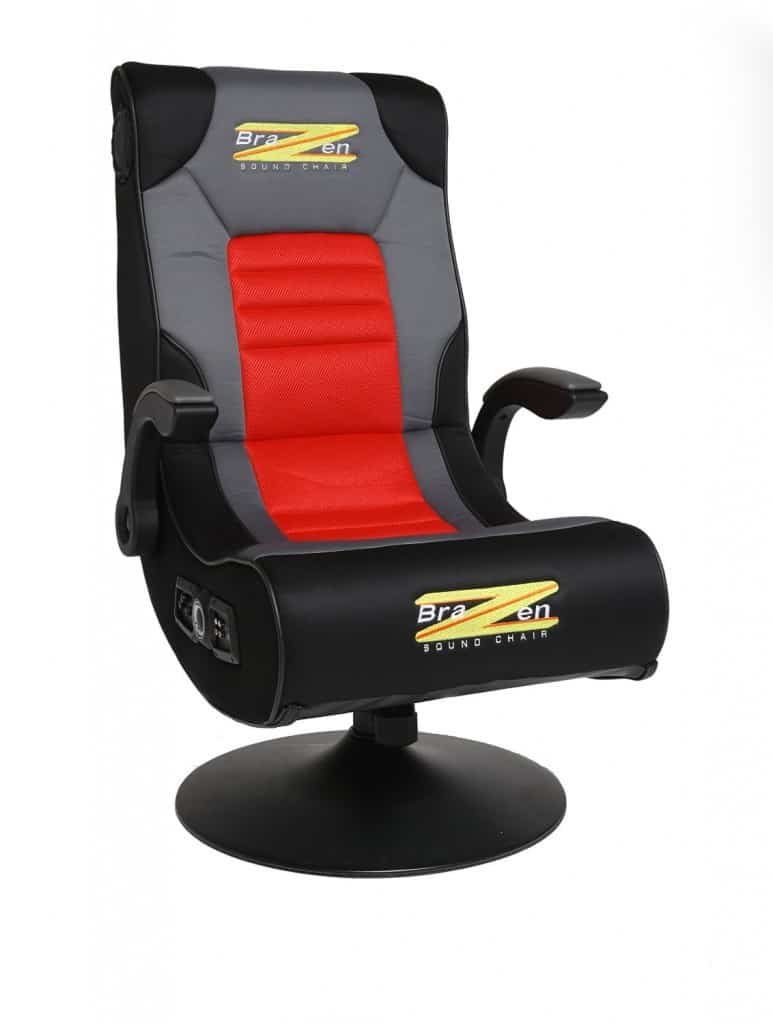 Ordinaire BraZen Spirit 2.1 Bluetooth Surround Sound Gaming Chair