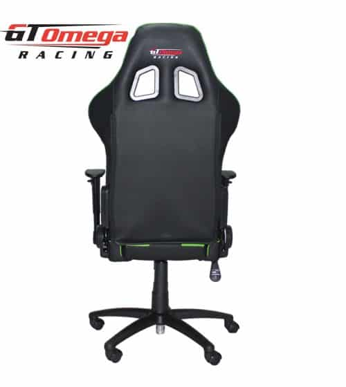 GT Omega Pro Office Black Green Back