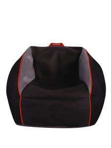 gioteck rc1 bean bag chair, front view