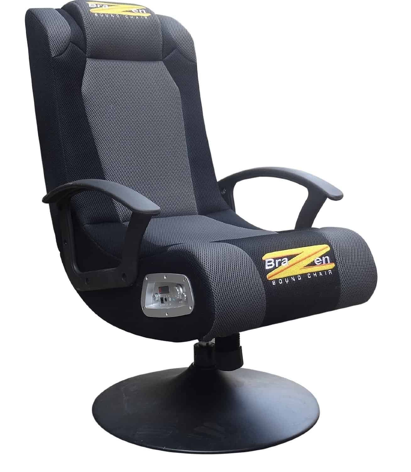 Awe Inspiring Brazen Stag 2 1 Surround Sound Gaming Chair Review Theyellowbook Wood Chair Design Ideas Theyellowbookinfo