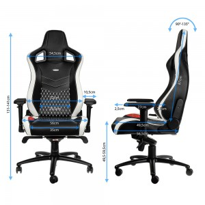 noble gaming chairs seat adjustments
