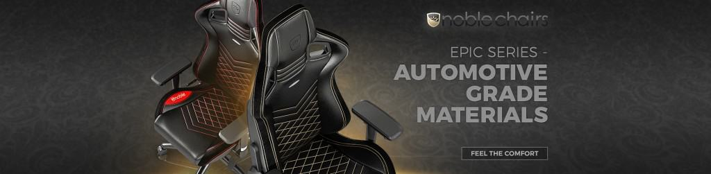 noble gaming chairs banner