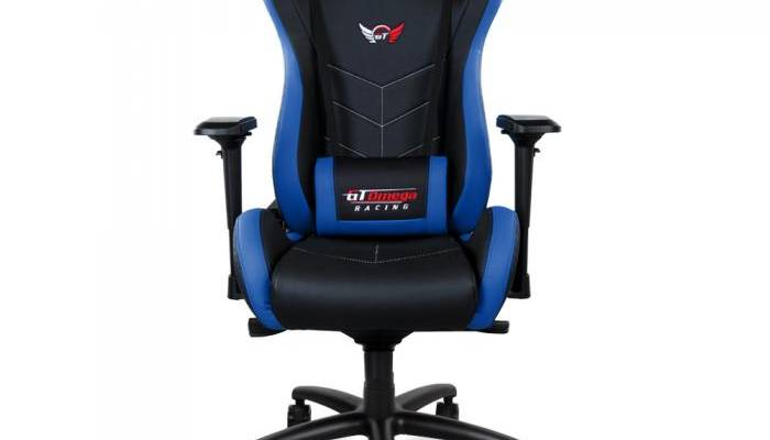 gt omega racing sport chair front view